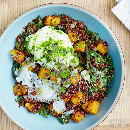 Quinoa & Butternut Bowl