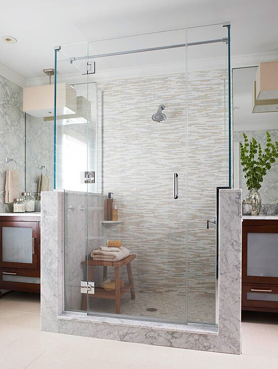 15 Stylish Seats For Walk In Showers