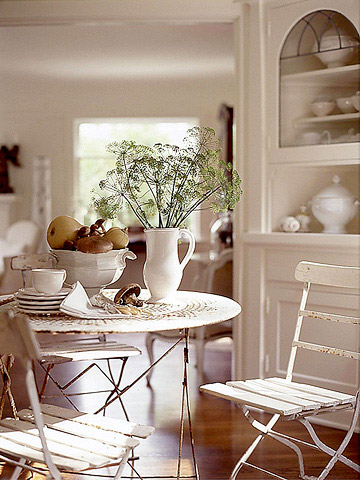 Interior Cottage Garden Table