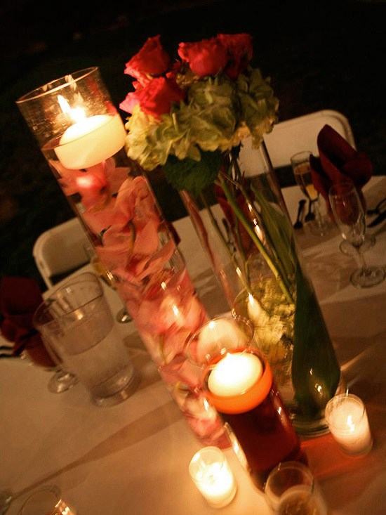 A Variety of Centerpieces