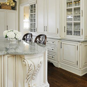 Kitchens With Furniture Style Cabinets