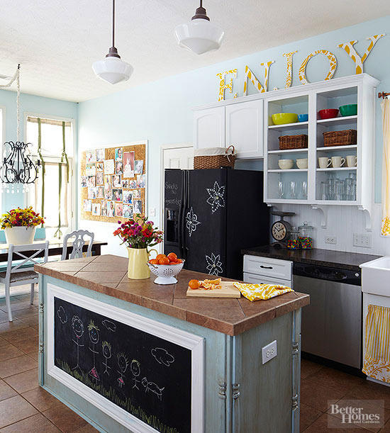 Easy Diy Kitchen Decorating Better Homes Gardens