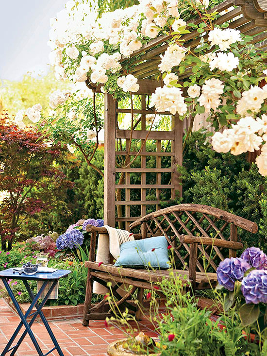Small Space Landscaping Ideas Better Homes Gardens