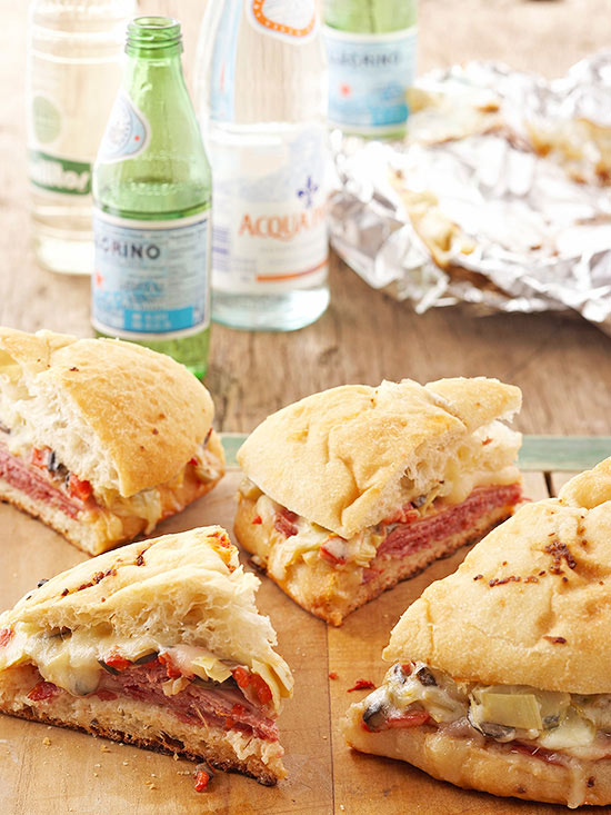 Tailgate-Style Sandwiches