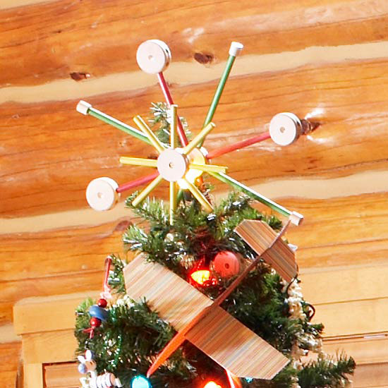 Tinker Toys Tree Topper