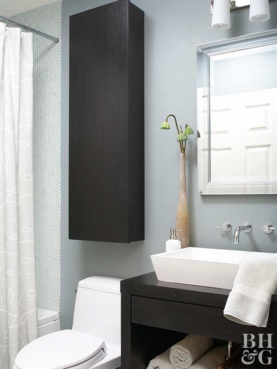 Add Bathroom Storage With Wall Cabinets