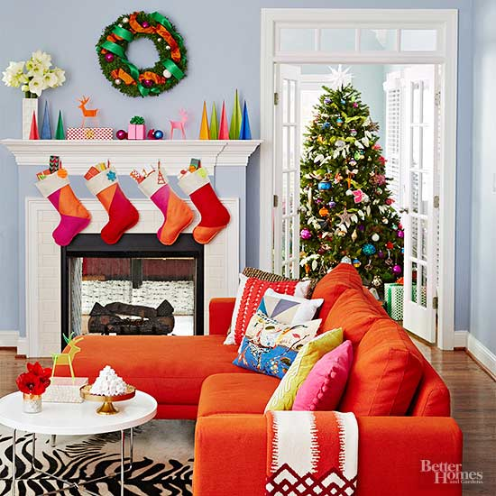 Striking Holiday Decor