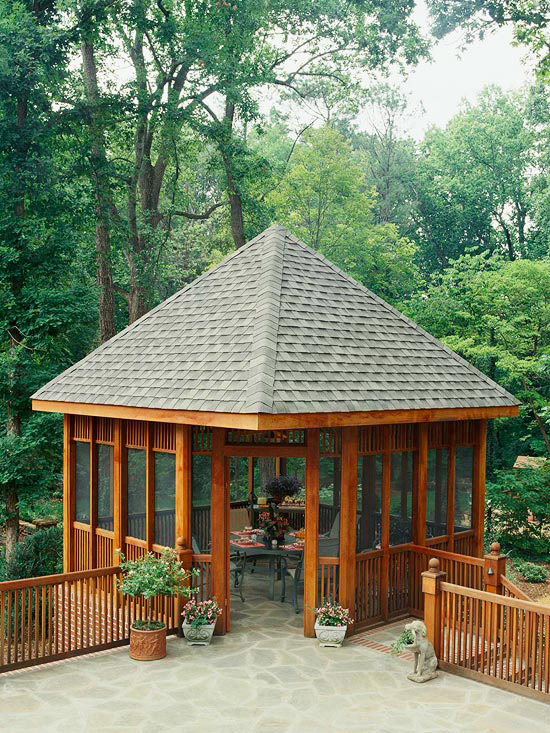 Smart Gazebo Windows