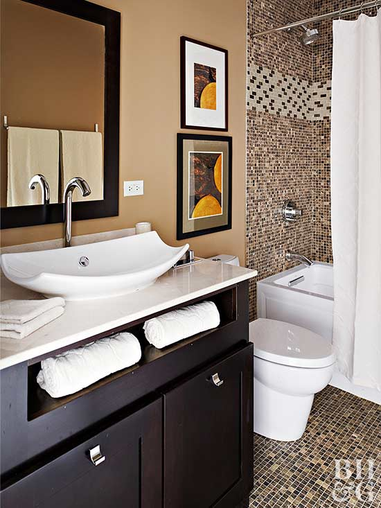 Baths With Stylish Color Combinations Better Homes Gardens
