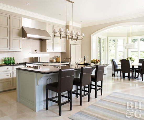 Open Kitchen Layouts Better Homes Gardens