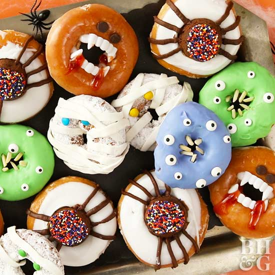 Scary-Good Halloween Donuts
