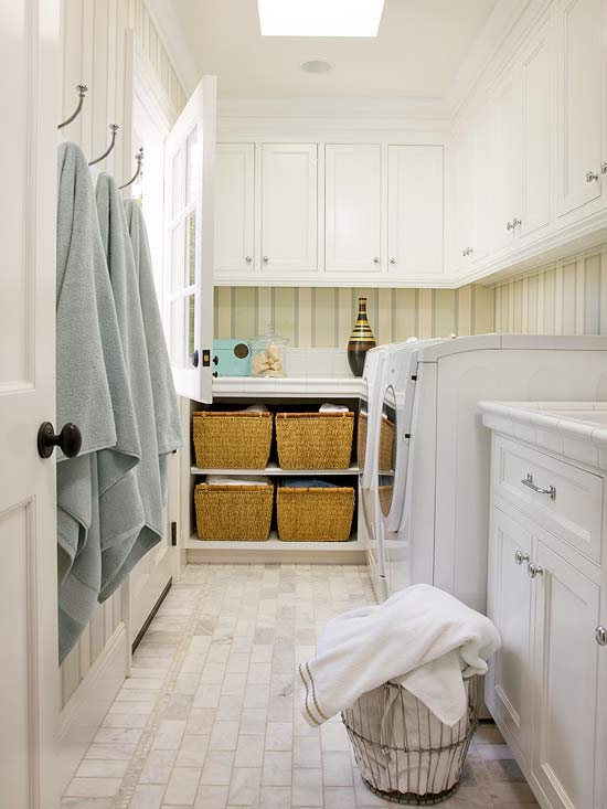 A Practical Laundry Room