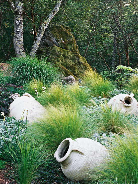 Stipa and Sculptures