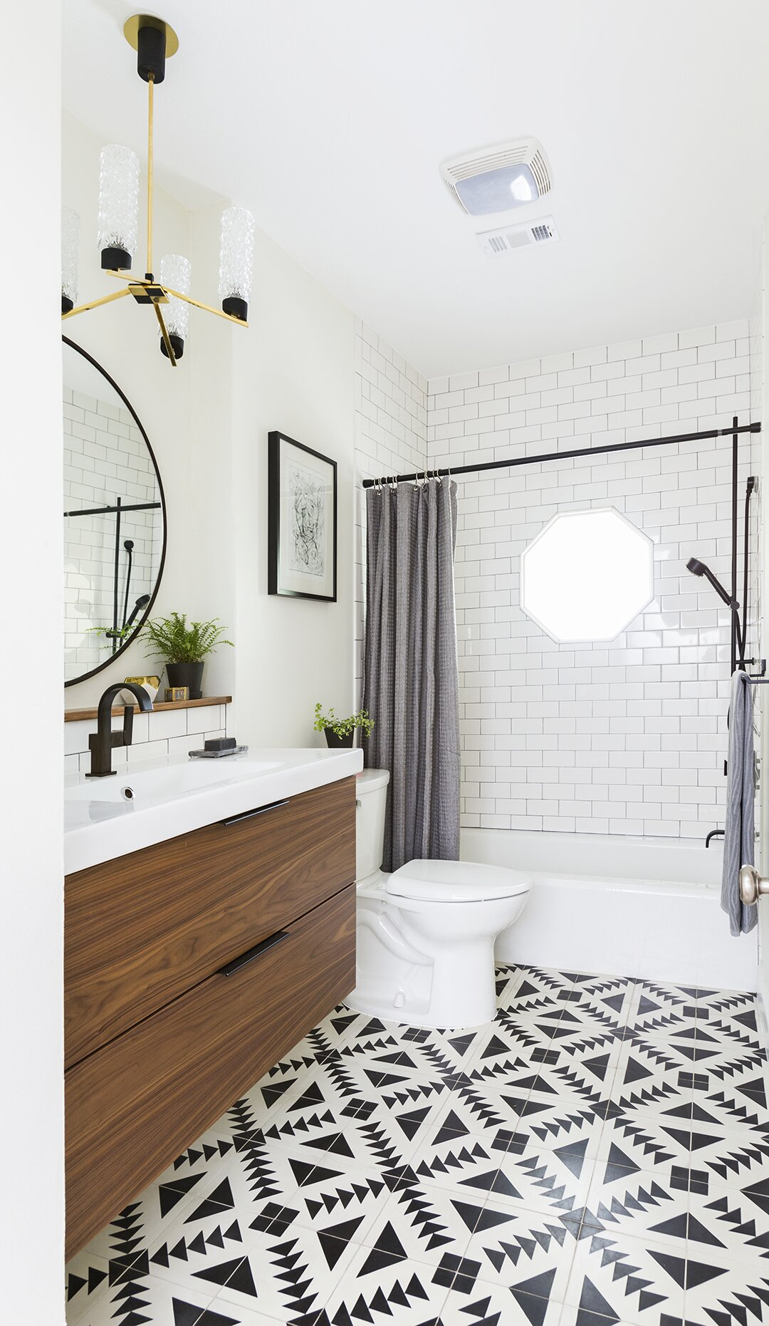 Ways To Use Tile In Your Bathroom Better Homes Gardens