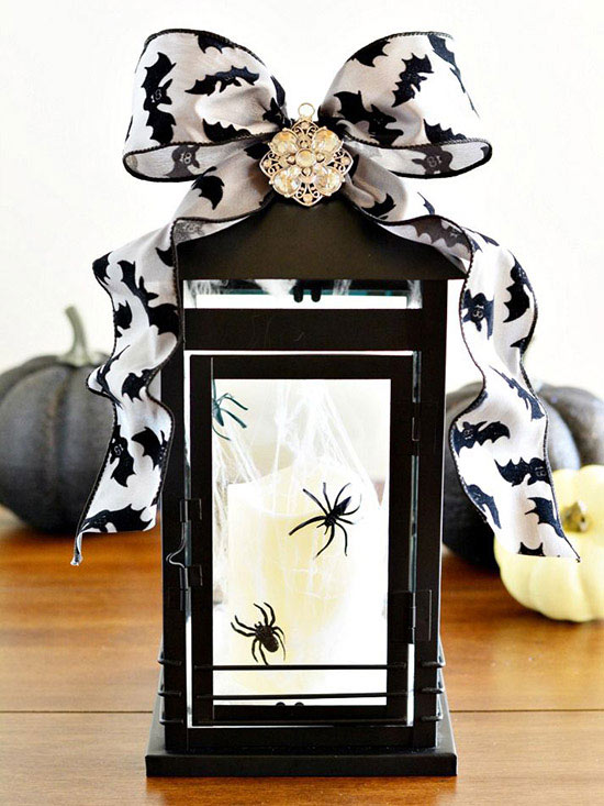 102280441 Bowed and Bejeweled Halloween Lantern
