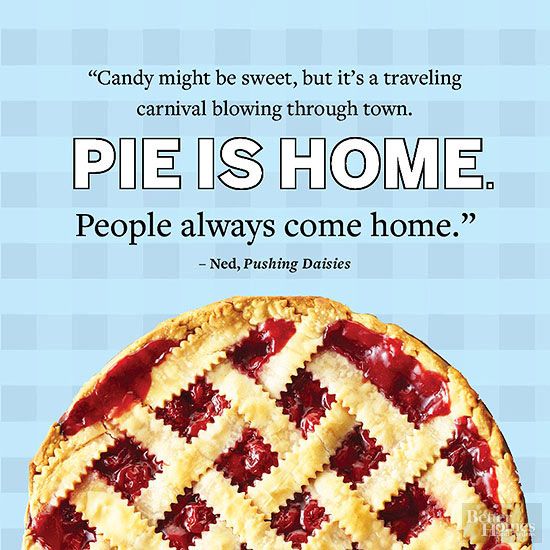 Pie is Home