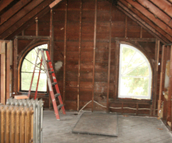 Before: Unfinished Attic