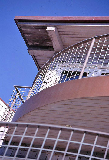 Curved Copper Flashing
