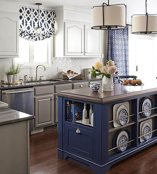 The Best Colorful Kitchen Islands