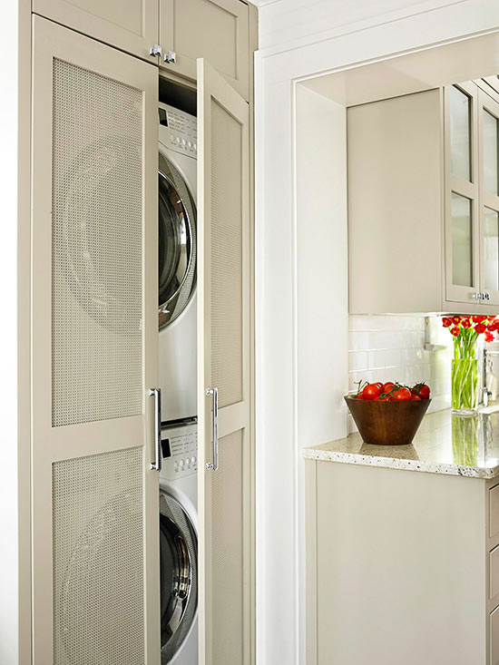 Small-Space Laundry Closet