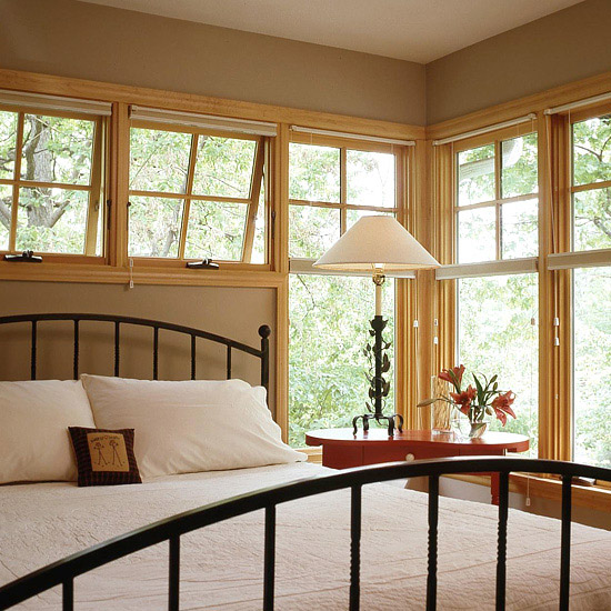 Corner Double-Hung Windows