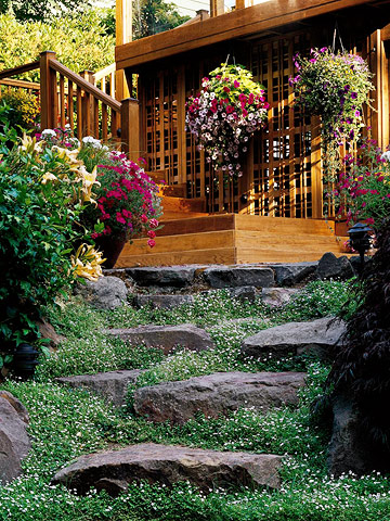 Stepping Stone Stairs