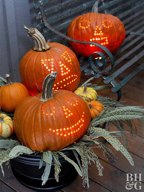 Powered-Up Pumpkins