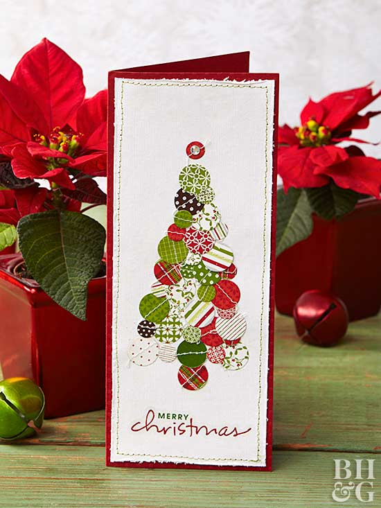Decorative Christmas card