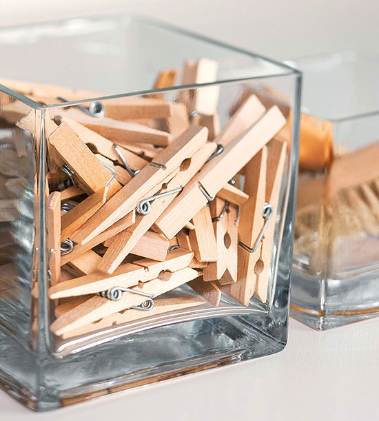 Collect Clothespins