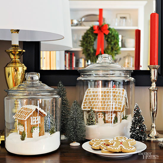 Gingerbread house cloches