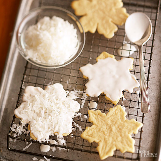 White-Chocolate Snowflakes,