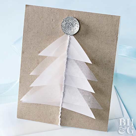 DIY Christmas card
