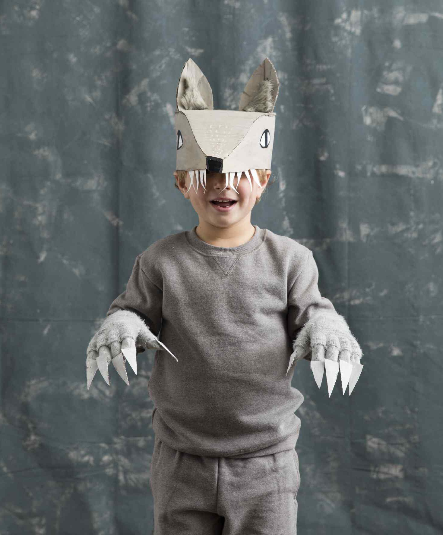 Kids Wolf Costume For
