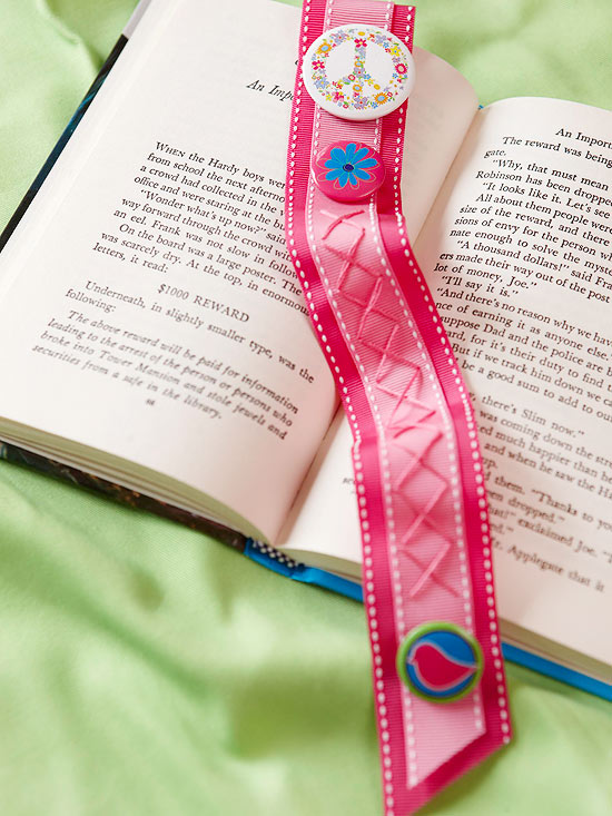Stitched Bookmark