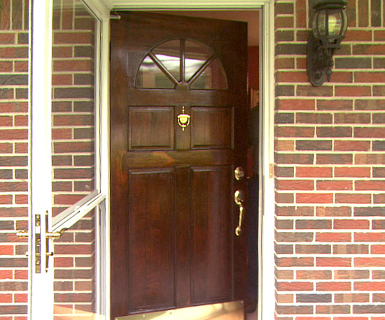 Finished Entry Door