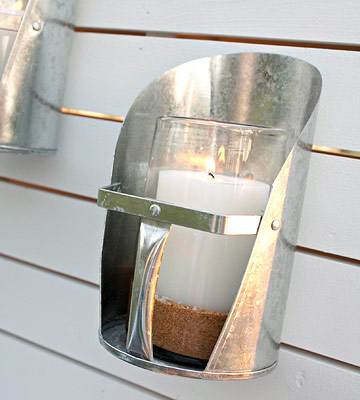 Scoop Candleholder