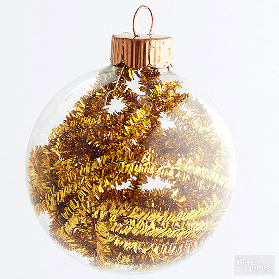 Chenille Stem-Stuffed Ornament