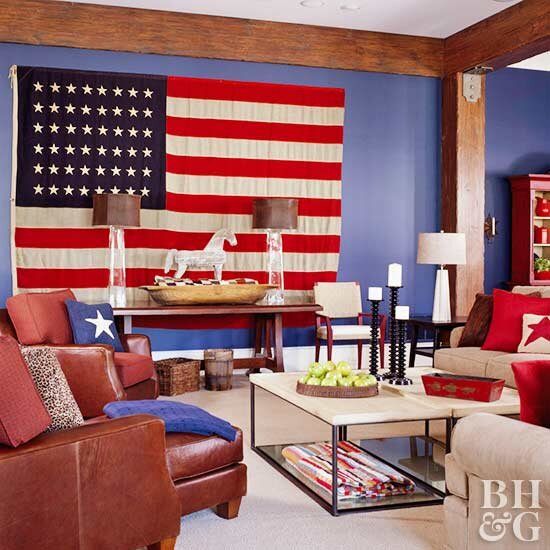 Here Are the Best Ways to Decorate with Red, White, and Blue Year-Round
