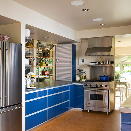 Industrial-Style Cabinets