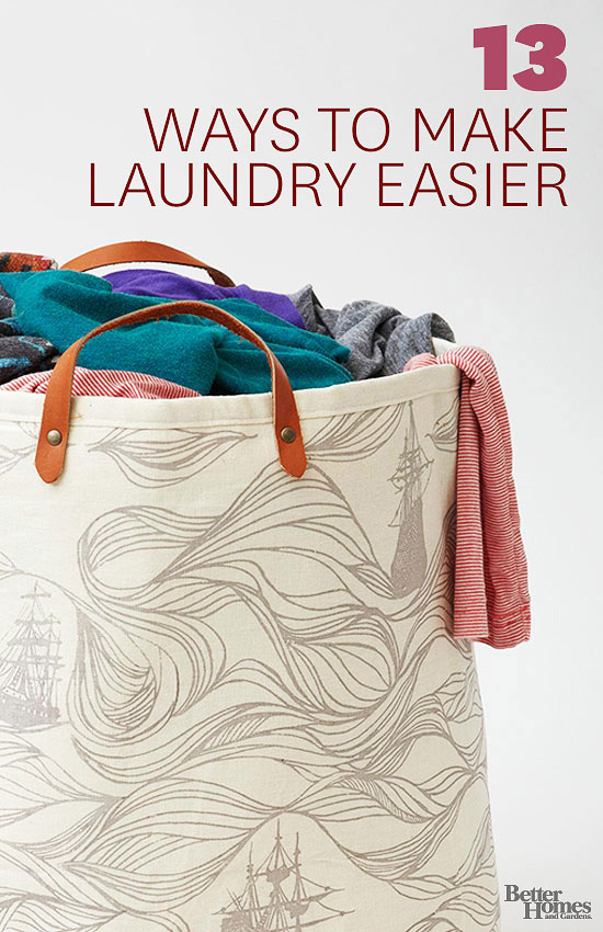 13 Ways to make laundry easier
