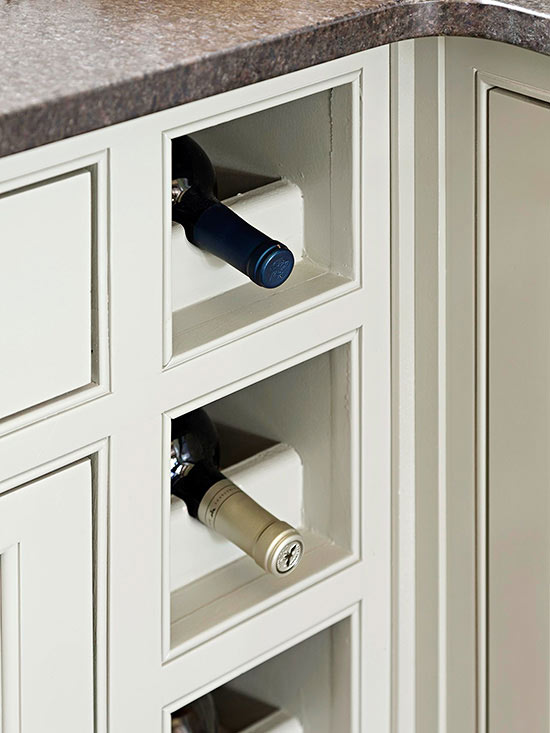 wine shelves