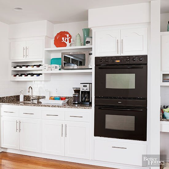 Ideas for Decorating above Kitchen Cabinets | Better Homes ...