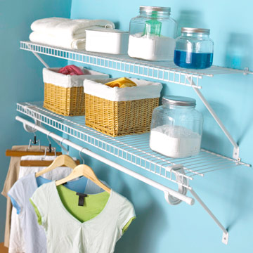 Double-Duty Shelving