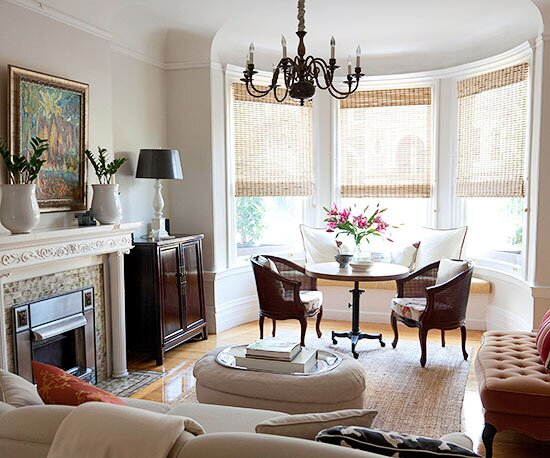 Bay Window Treatment Ideas Living Room Curtain Curtains ...