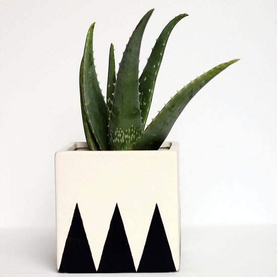 Square Geometric Planter