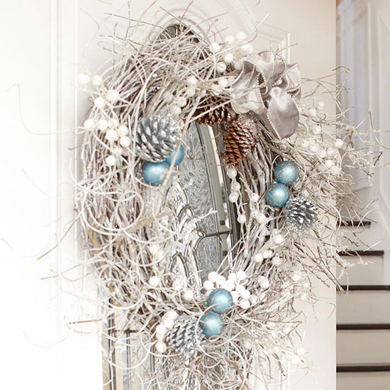 Spray-Painted Wreath