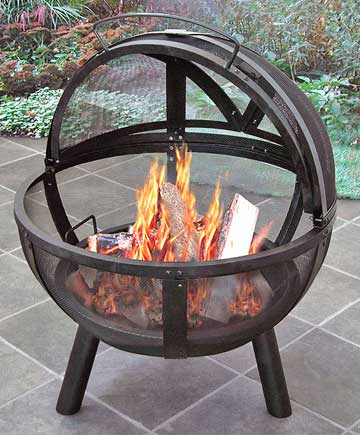 Spherical Fire Pit