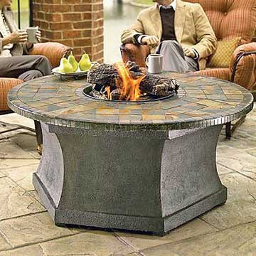 Luxury Fire-Pit Table