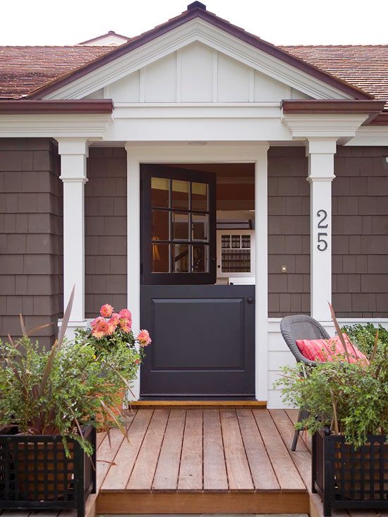 Cottage Front Doors Better Homes