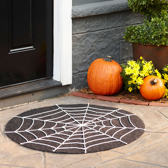 Spider Web Door Mat